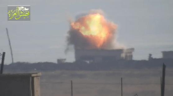 Video: Aksi Rudal TOW Pejuang Suriah di Pertempuran Mallah