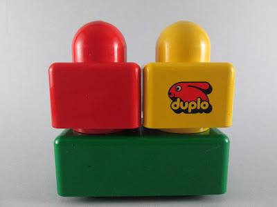 Algumas peças LEGO Duplo