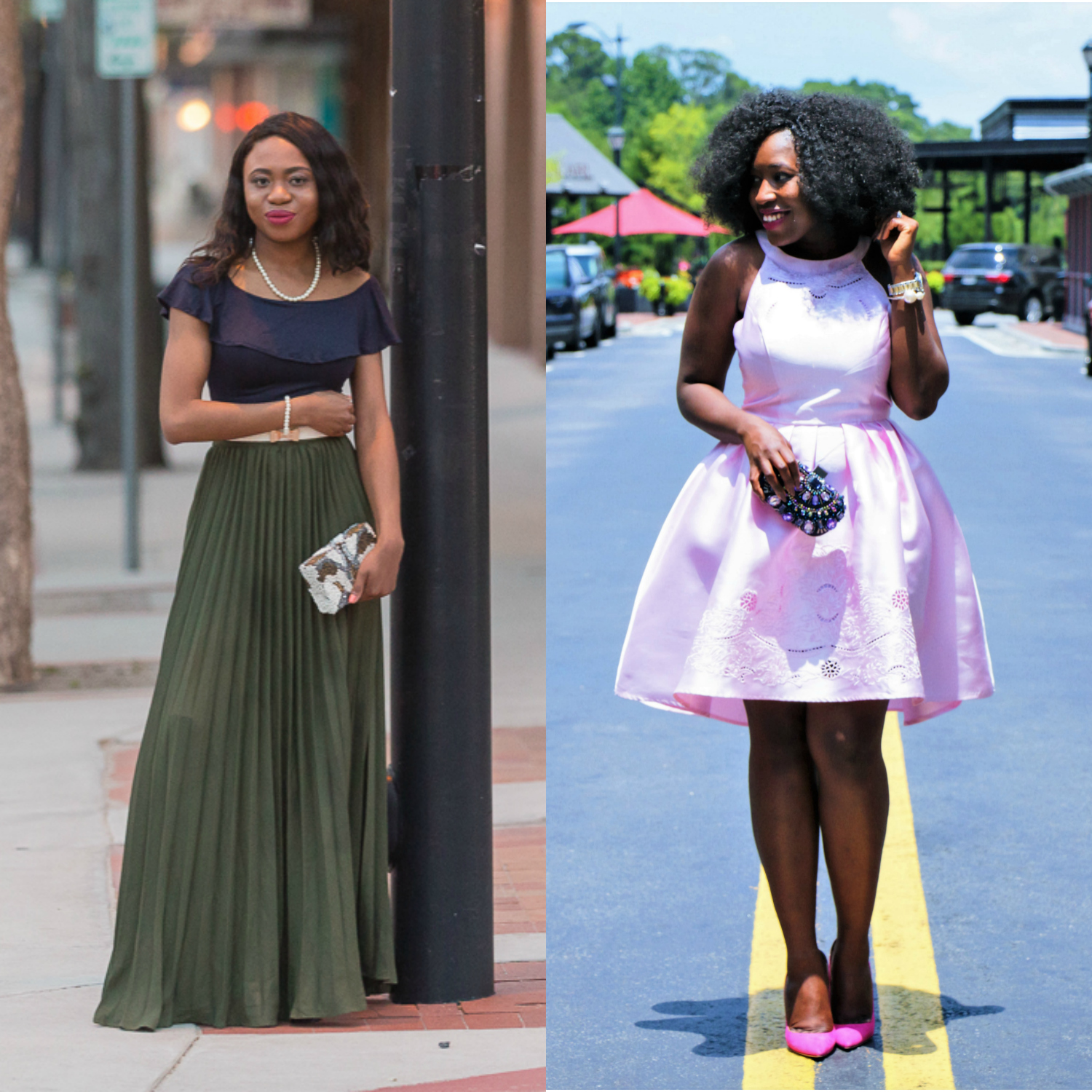 b21cee7eab Two bloggers  take on what to wear as a wedding guest to summer weddings