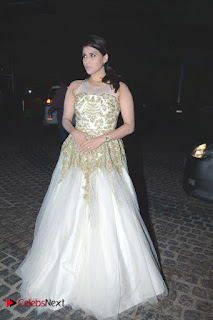 Actress Mannara Chopra Pictures at Britannia Filmfare Awards 2016  0011