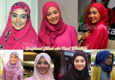 Tips Hijab Simple Modis ala Nuri Maulida