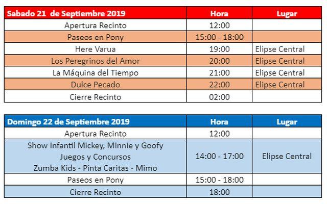 Fiestas Patrias en SAGO
