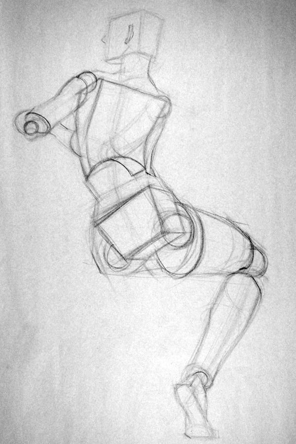 Figure Drawing Professor: The Geometric Figure