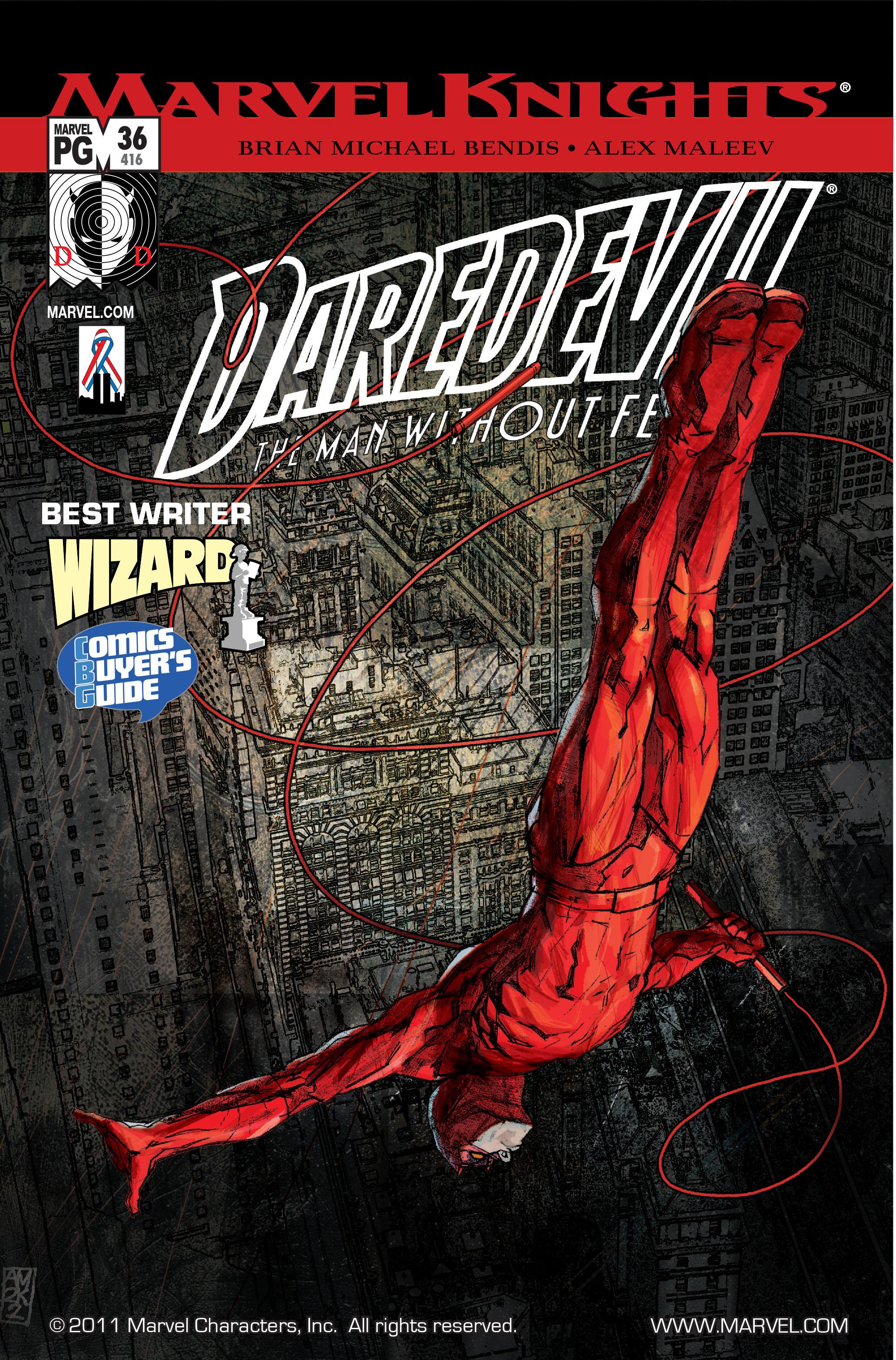 Daredevil (1998) 36 Page 1