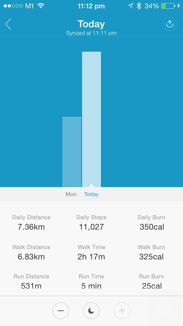 Progress Tracking Screen