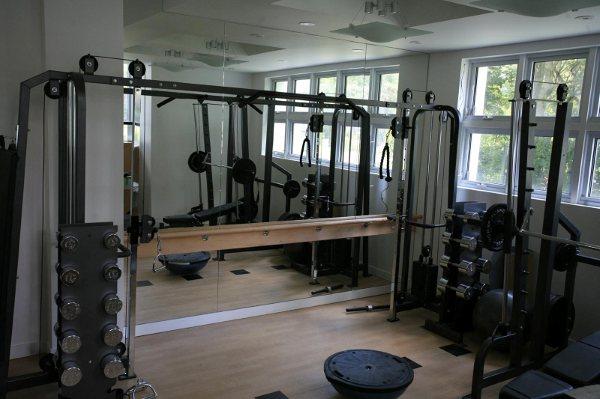 EXERCISE ROOM MIRROR NEW YORK