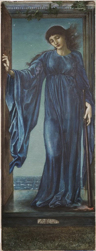 Night, Edward Burne Jones, British, 1870, Image courtesy Harvard Art Museums/Fogg Museum