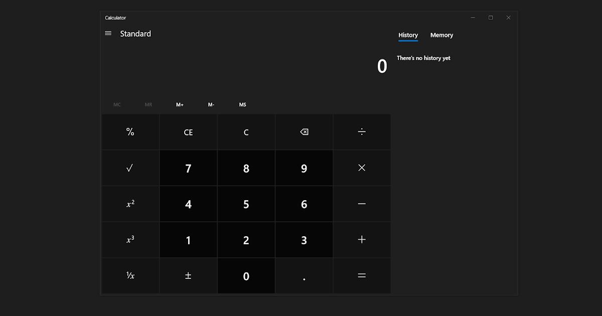 Microsoft Membuat Calculator Windows 10 Open Source? - BLOG SAYUGI