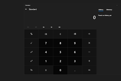 Microsoft Membuat Calculator Windows 10 Open Source?
