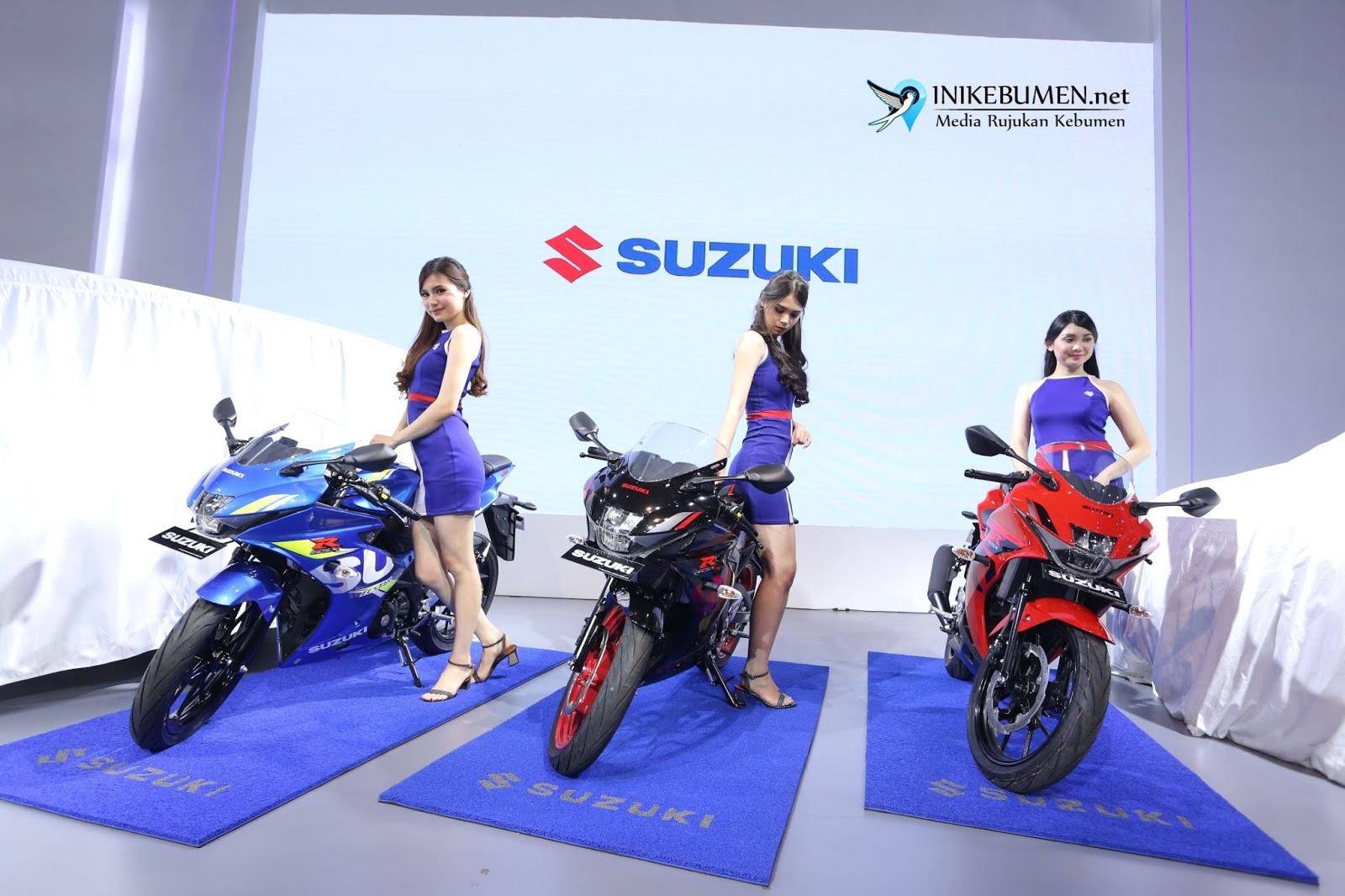 Penyegaran Tampilan Suzuki GSX-R150, Kini Lebih Stylish
