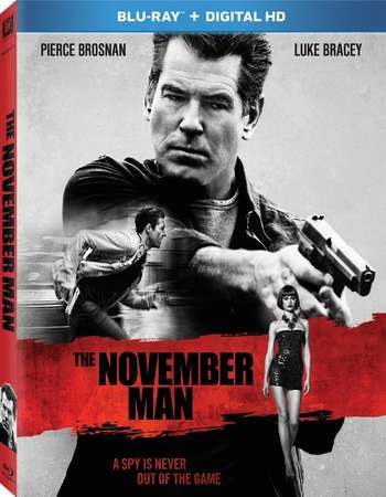 Poster Of The November Man 2014 Dual Audio 300MB BRRip 480p ESubs Free Download Watch Online