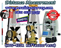 Measuring the HTS 420R Hi Target Total Station Reflectorless 600M
