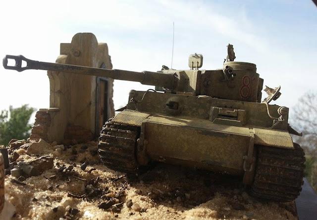1/35 Tiger I in Tunisia