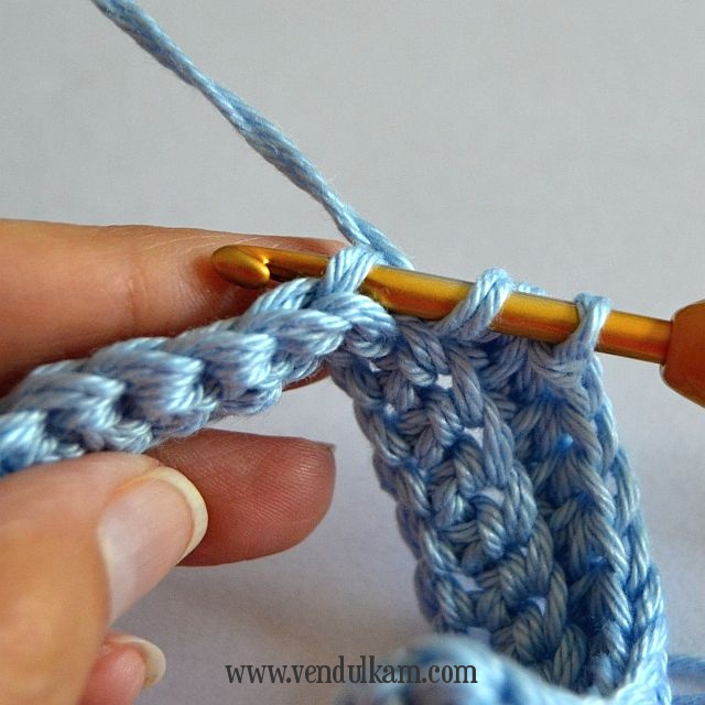 Make It Blue Free Crochet Pattern Magic With Hook And Needles