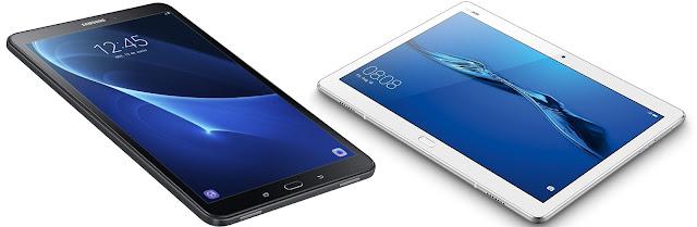 Samsung Galaxy Tab A6 10.1 vs Huawei Mediapad M3 Lite 10