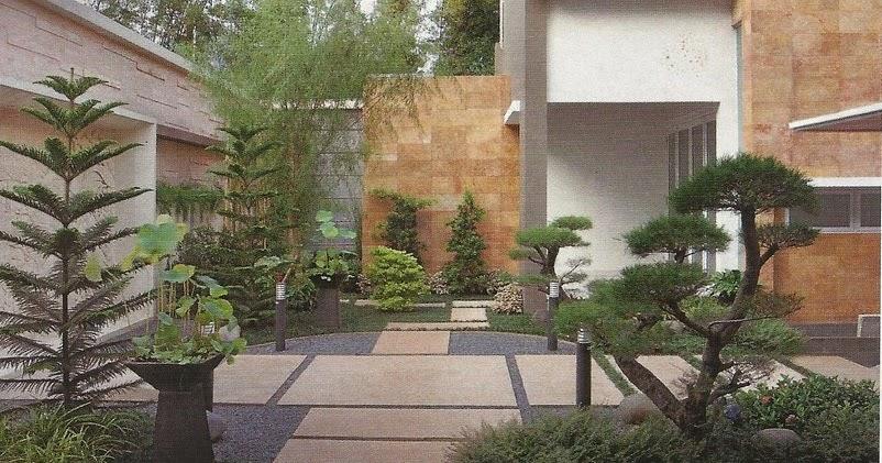 gambar taman rumah sederhana minimalis
