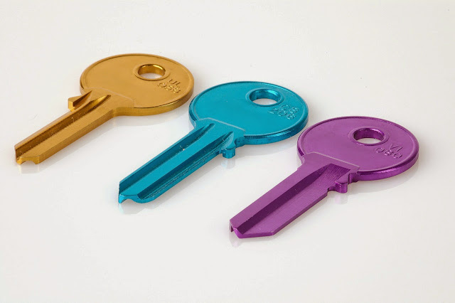 Assorted Colored Keys