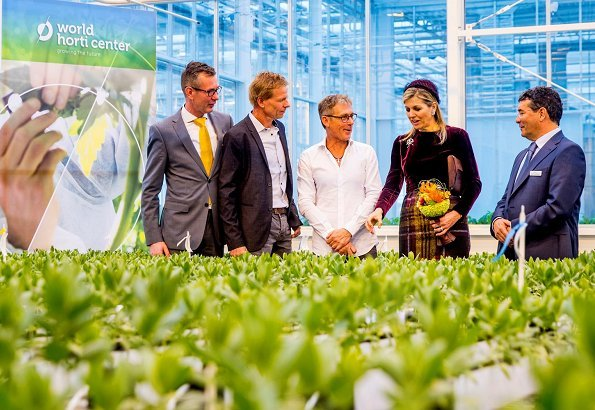 World Horti Center is an international information and innovation center for greenhouse cultivation. Deputy Prime Minister Carola Schouten. Natan Dress