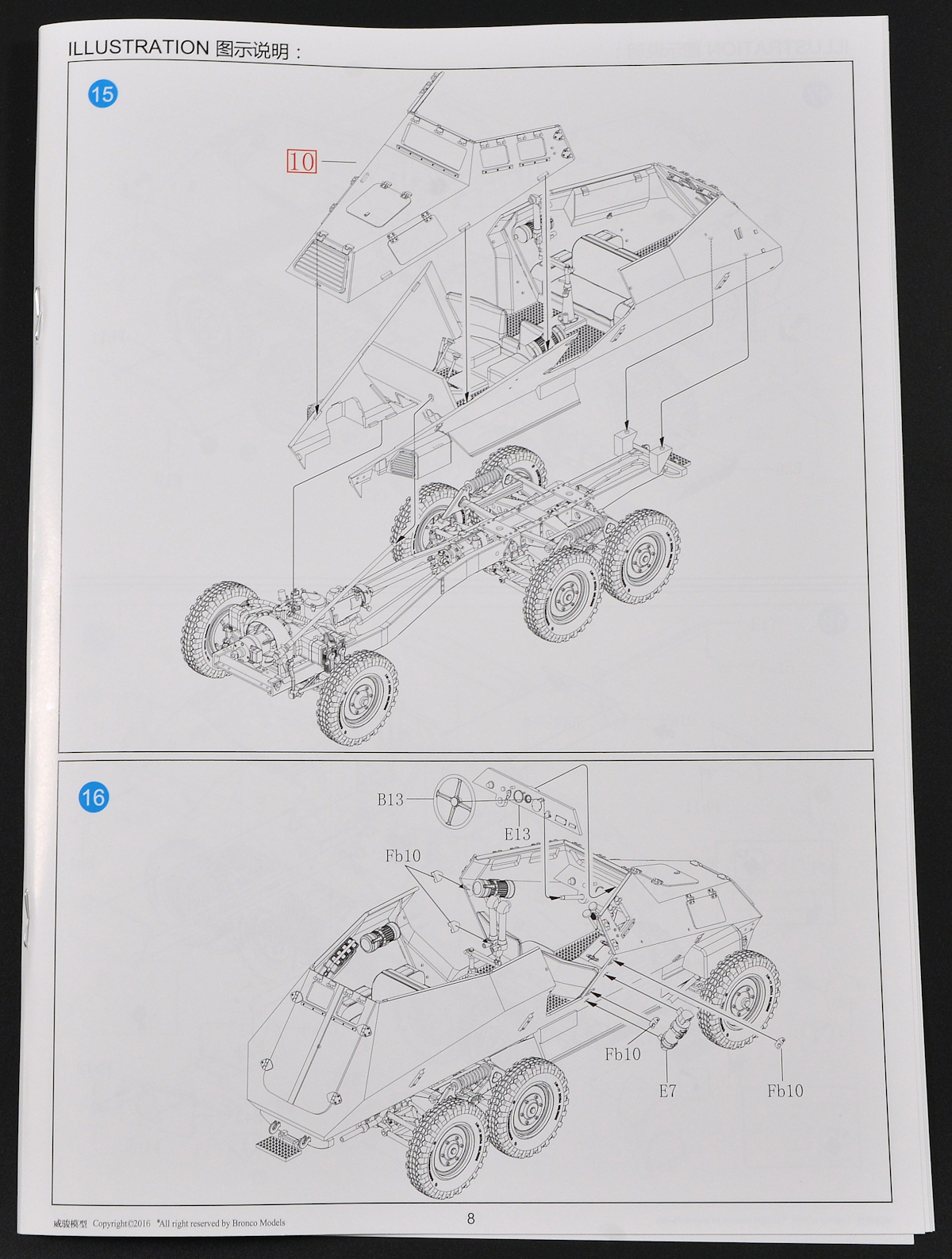 The Modelling News In Boxed Paul Looks At Broncos New 35th Scale E7 350 Engine Diagram There Are Three Marking Options Shown Colour Although All Vehicles Grey Overall With Variations Being Number Plates And Type Of Crosses