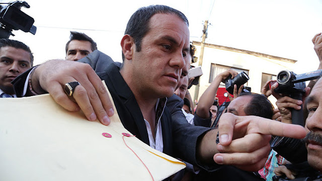 México: Un famoso exfutbolista y alcalde de Cuernavaca se declara en huelga de hambre