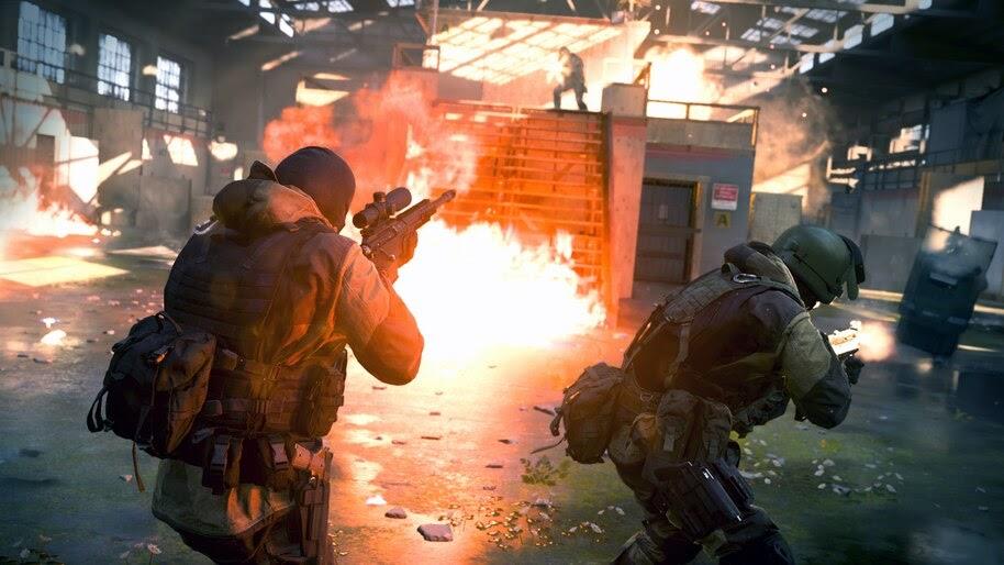 Call of Duty Modern Warfare, Soldiers, 4K, #5.1000