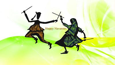 Happy Navratri 2015 HD Wallpaper