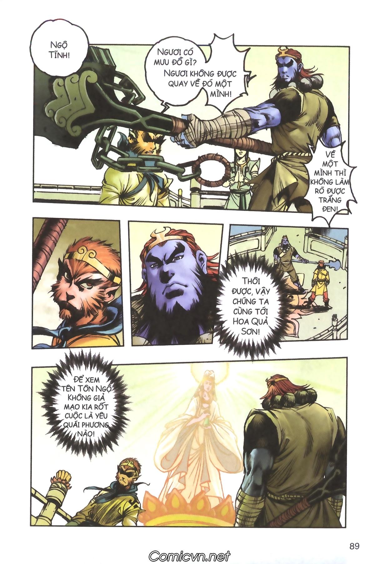 Tây Du Ký màu - Chapter 103 - Pic 15