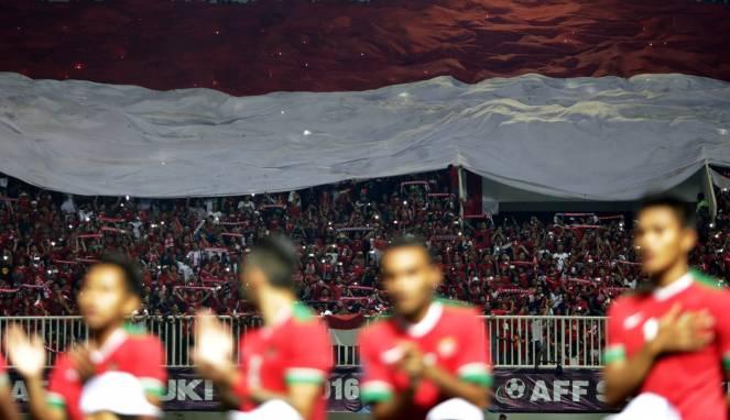 TIMNAS Mengharap Dukungan Supporter Indonesia di Rajamangala