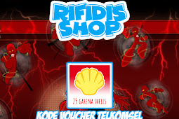 Voucher Telkomsel Garena Shell