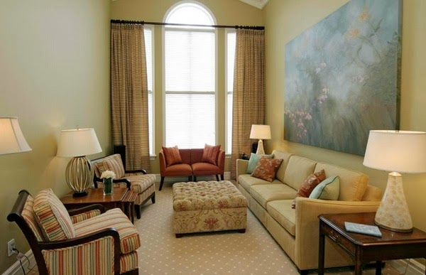 decoración sala de apartamento