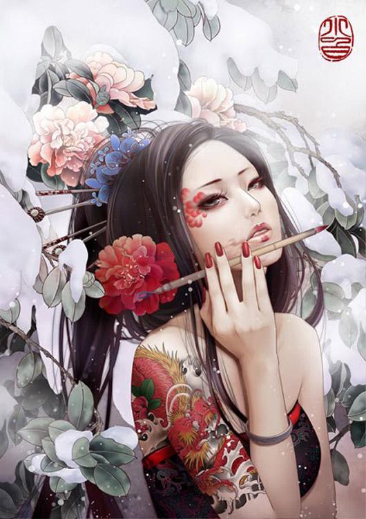 Zhang Xiao Bai (白姥姥) - http://xiaobaiart.deviantart.com/