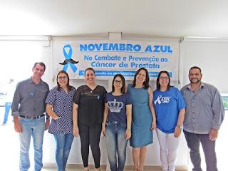 """Servidores recebem palestra da campanha """"Novembro Azul"""""""