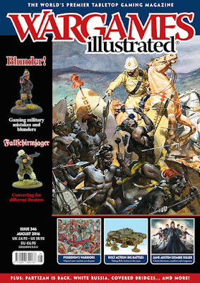 Wargames Illustrated 346, August 2016