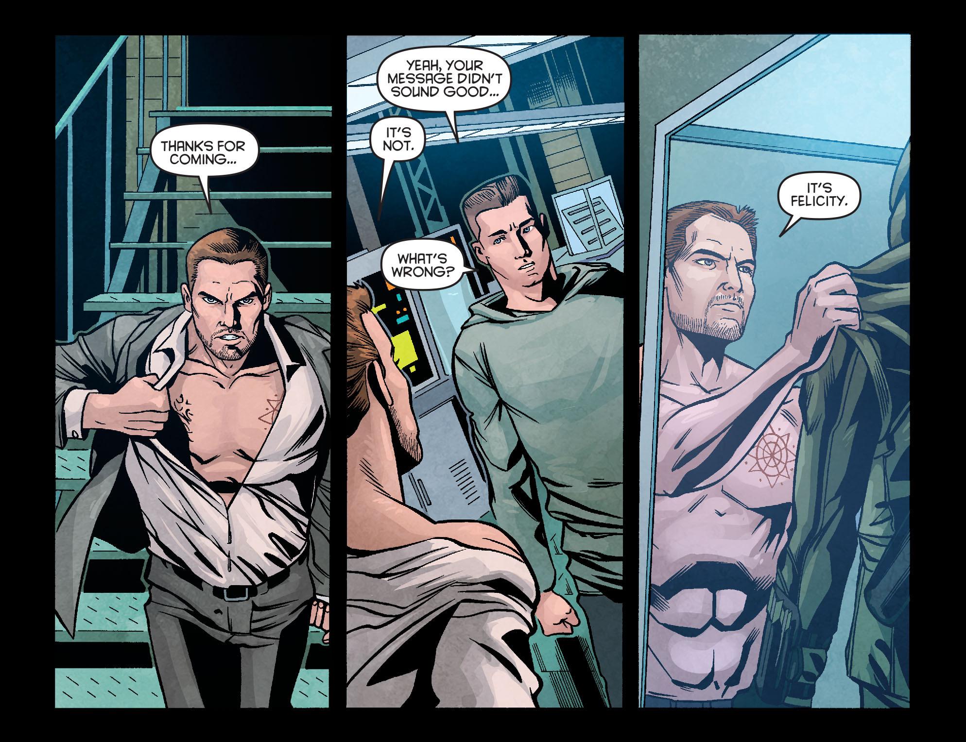 Read online Arrow: Season 2.5 [I] comic -  Issue #10 - 17