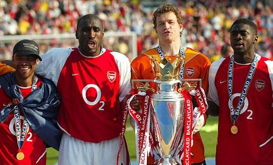 Arsenal vô địch Premier League mùa giải 2003 - 2004