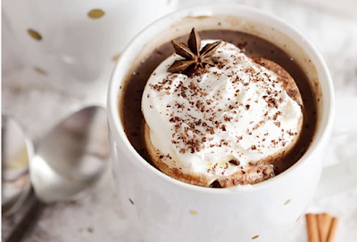 BUTTERSCOTCH SCHNAPPS SPIKED HOT CHOCOLATE #chocolate