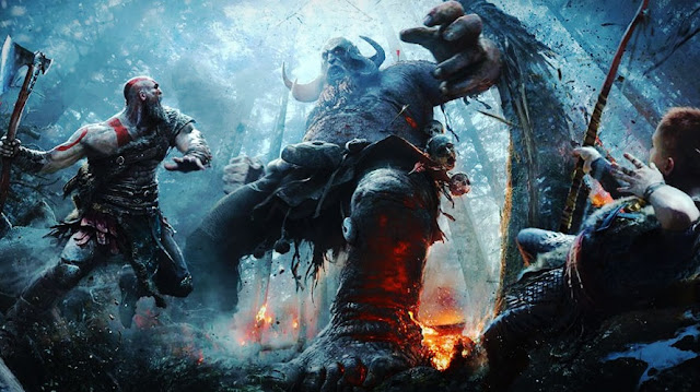 """God of War 4"" Top game PS4 hay nhất 2018"