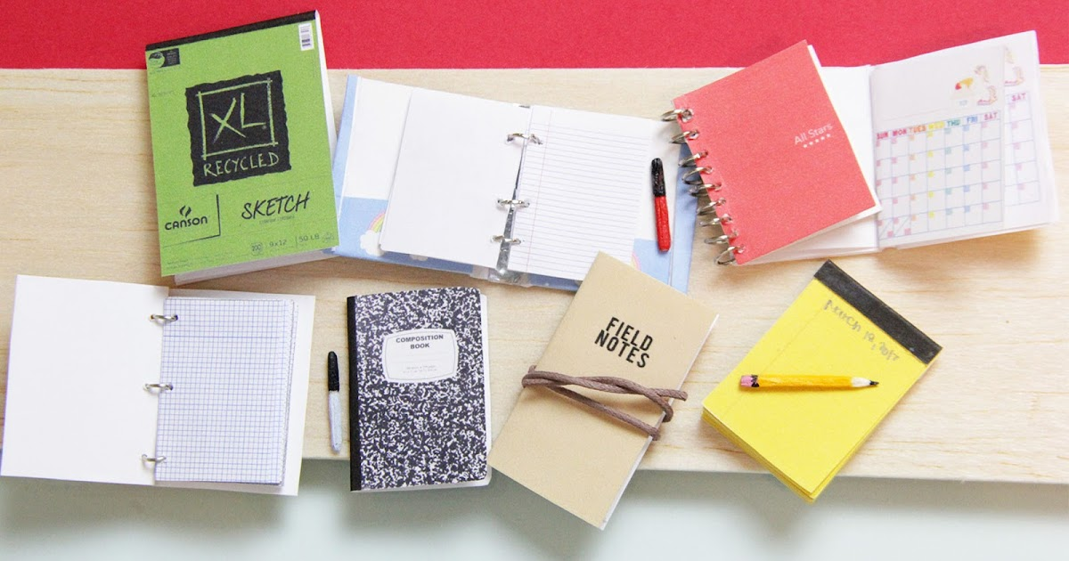toni ellison  diy mini notebooks