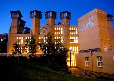 Du học Anh quốc tại trường Đại Học Coventry