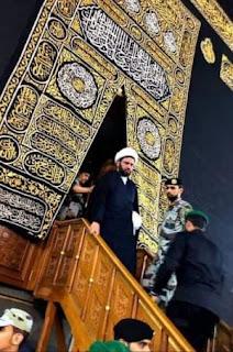 سامي المسعودي يظهر من داخل الكعبة المشرفة ويهدد بزوال حكم آل سعود