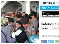 """Blak-Blakan, Media Terkenal di Luar Negeri Tulis """"Aparat Indonesia Mata-matai Masjid"""""""
