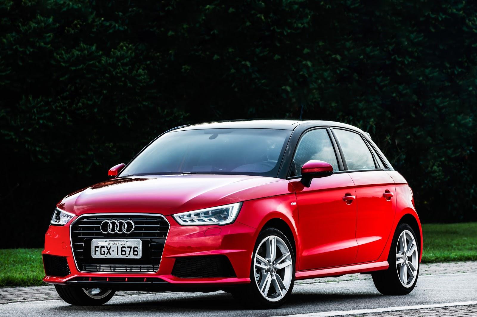 Novo A1 ganha a plataforma do VW Polo