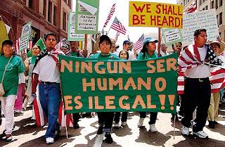 Objetivo: Perseguir a los inmigrantes