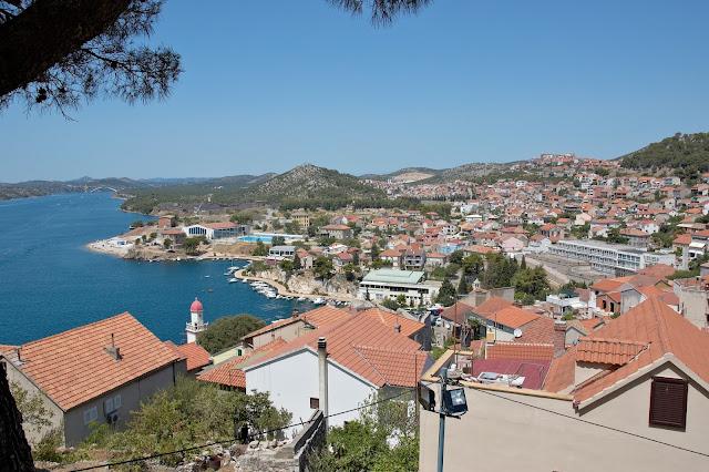 panorama miast w Chorwacji, punkty widokowe