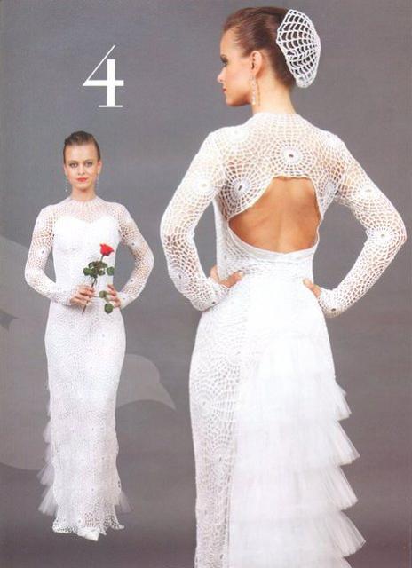 Vestido de Novia con Glamour