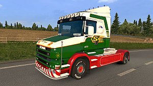 Scania T Stobart skin
