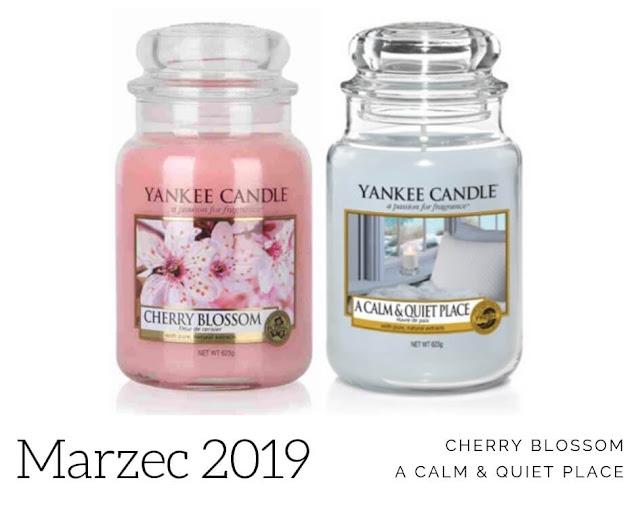 zapach miesiąca yankee candle marzec 2019