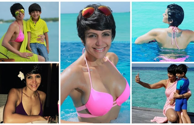 Mandira Bedi is back in fashion !