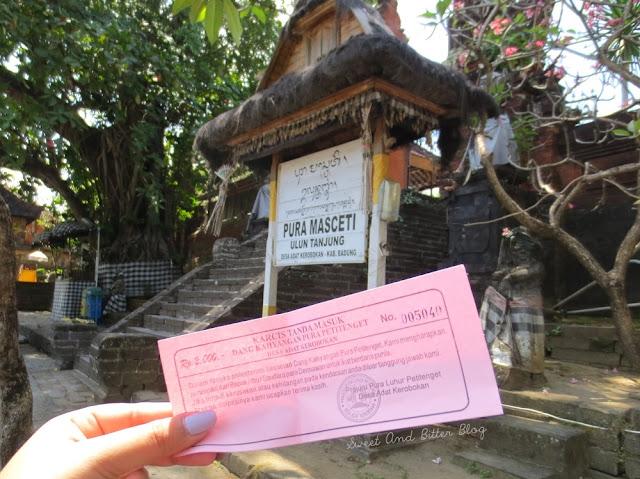 Pura Masceti Ulan Tanjung Bali