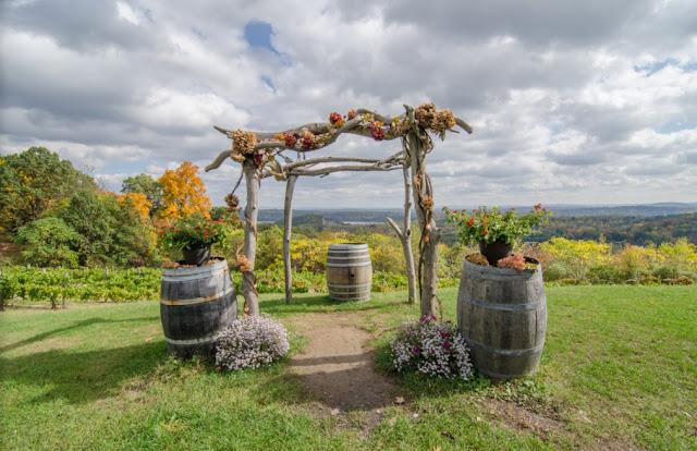 Wedding Venues Upstate Ny benmarl winery wedding
